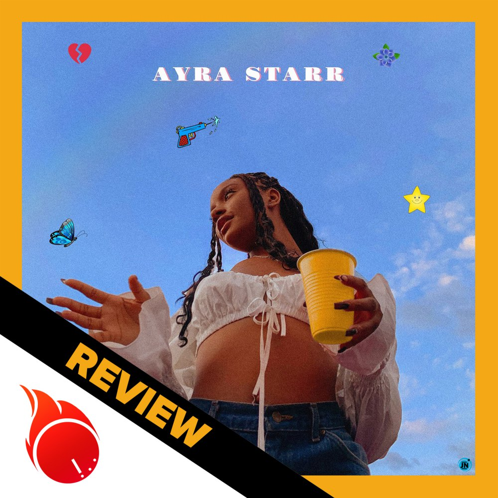 Here is a Moto Moto Music review for the self-titled debut EP by Nigerian alternative Afropop artist, Ayra Starr, who is under Don Jazzy's Mavin camp.