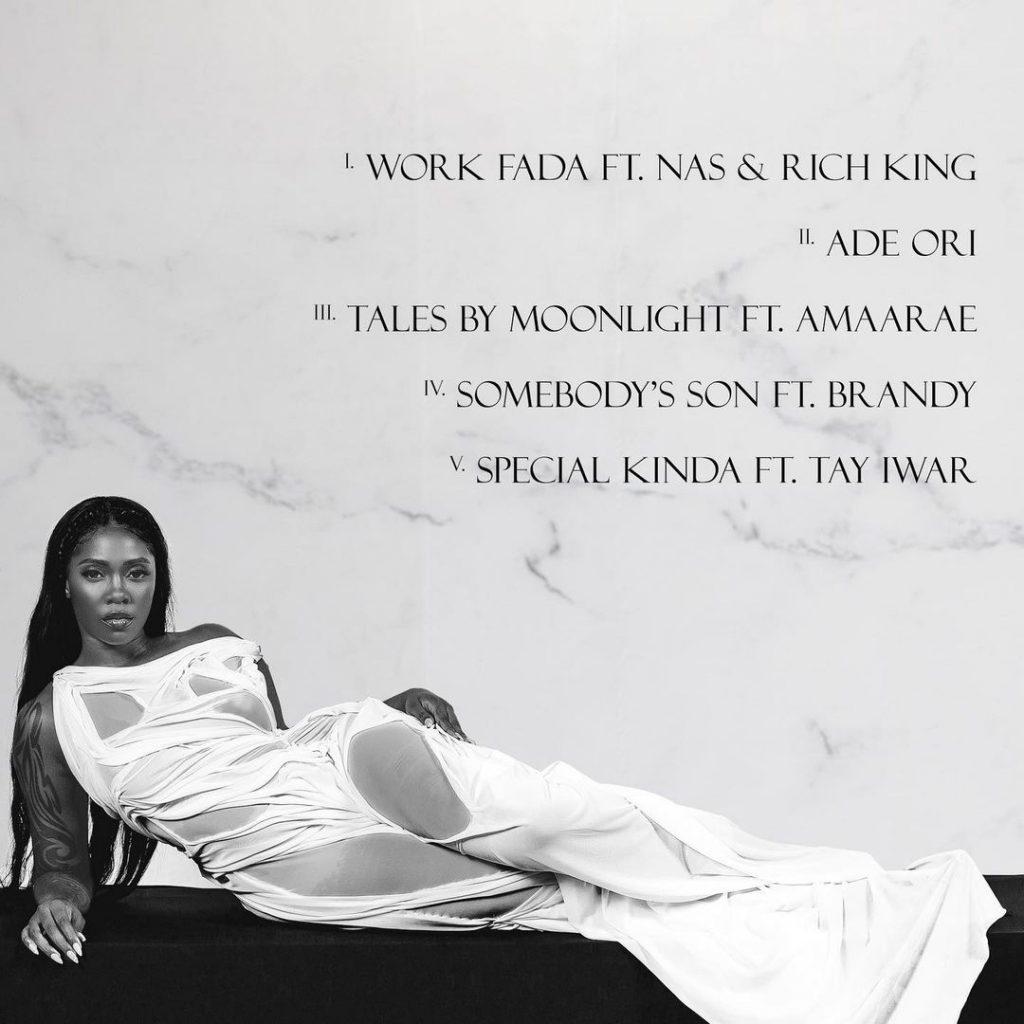 Water & Garri Tracklist for Tiwa Savage's EP